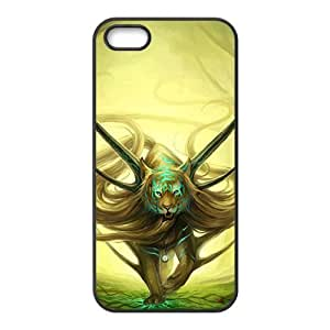 King of the forest lion Phone Case for iPhone 5S(TPU)