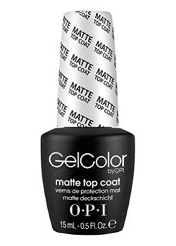 Nagellack LED/UV OPI Gel Farbe 15ml–TOP COAT Matte–100% Gel Authenic–Kostenloser Versand
