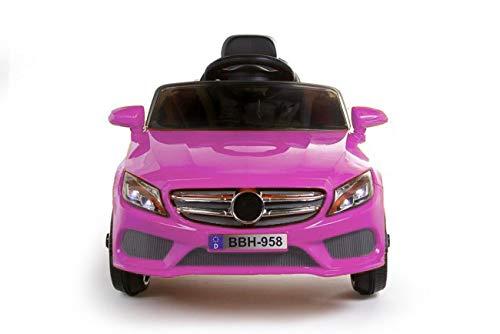 Carro Montable Deportivo Clasico con Control Remoto - Rosa