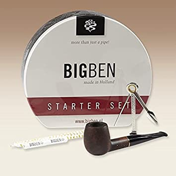 Bigben Straight Pipe Starter Set Kit New Gift Boxed In Tin Made In