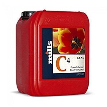 Mills Nutrients C4 (.5-7-5) (5 Liter) by Mills Nutrients