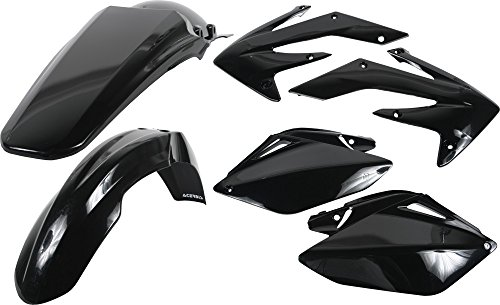 06-09 HONDA CRF250R: Acerbis Plastic Kit (Black)