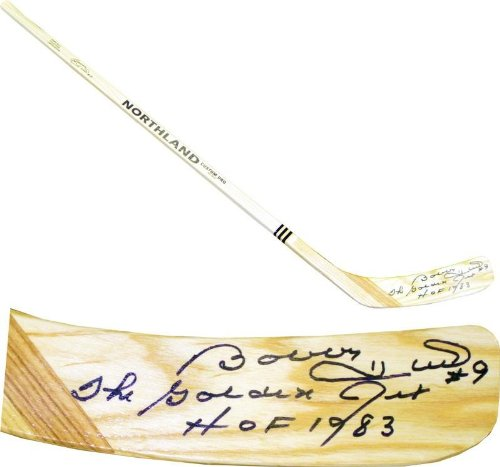 - Bobby Hull Autographed Hockey Stick - Northland JSA) - Autographed NHL Sticks