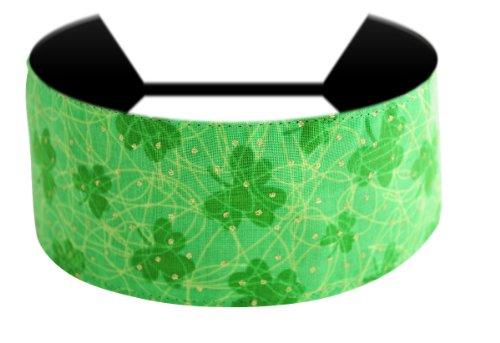 Luck of the Irish, Glittered Shamrocks St. Patrick's Day Gorgeous Soft Headband
