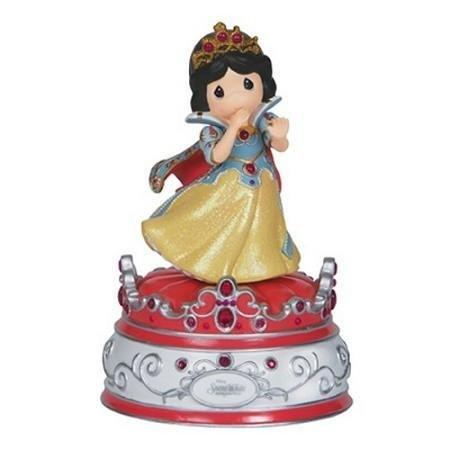 Precious Moments, Disney Showcase Collection, Snow White, Resin Music Box, 144103 ()