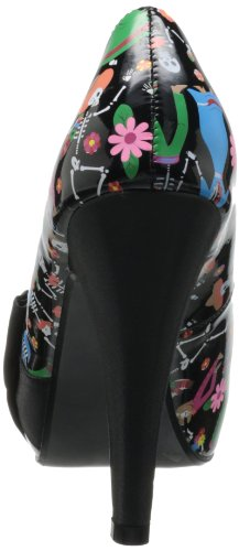 Patent Black Bettie Pleaser 13 Women's Black Satin Igx0fq