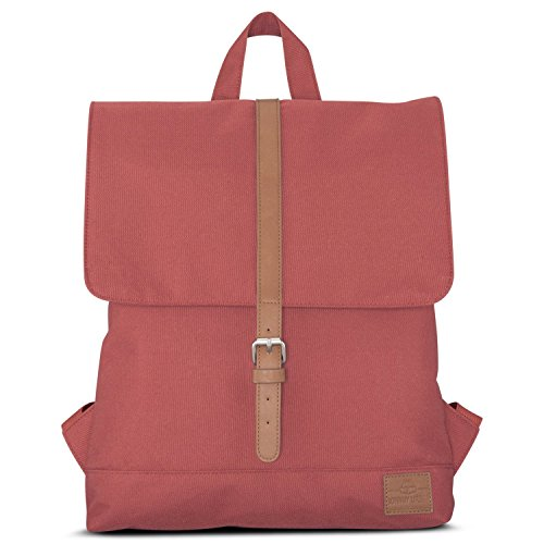 cc3a891fc5 Small Backpack Women Red -JOHNNY URBAN Mia- Durable Recycled PET Bottles  Daypack