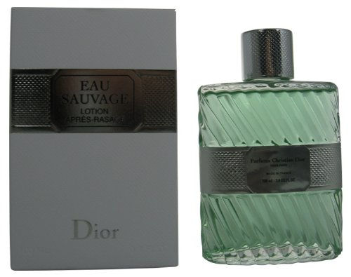 Sauvage Eau Cologne Citrus - Eau Sauvage By Christian Dior For Men. Aftershave 3.4 Oz / 100 Ml.