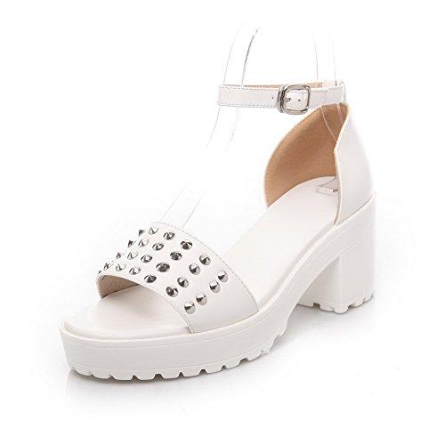 Adee Sandalias de vestir para mujer Blanco blanco ZliaBs