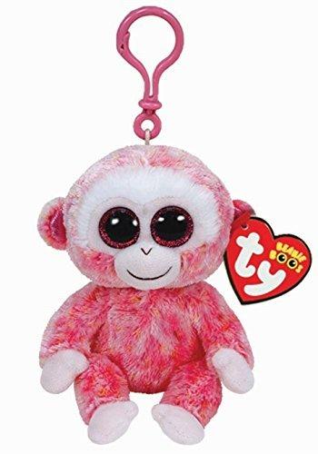 (Ty Beanie Boos Ruby - Red Monkey Clip)