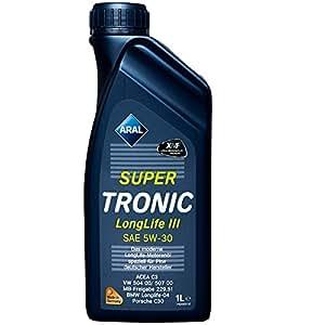 Aral 20478 Super Tronic Long Life 5W-30 Aceite de Motor, 1 Litro