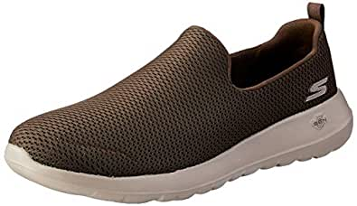 Skechers Australia GO Walk MAX Men's Walking Shoe, Chocolate, 7 US