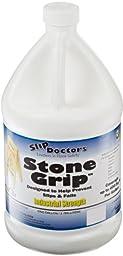 SlipDoctors Stone Grip Anti-Slip Floor Treatment, 1 Gallon Bottle, Yellow