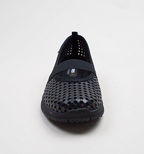 Femme pour à de Chaussures Holees Black Lacets Ville black xwYxqSW