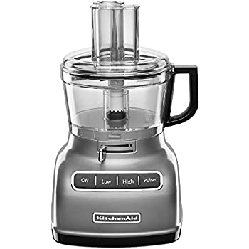 Amazon Com Kitchenaid Kfp720ob 7 Cup Food Processor With 3 Cup Mini
