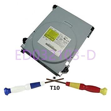 fbm032103-d DVD unidad Samsung MS28 TS-H943 + T10 destornillador para Microsoft Xbox 360: Amazon.es: Informática
