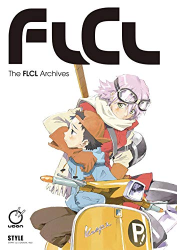 Book cover from The FLCL Archives by GAINAX