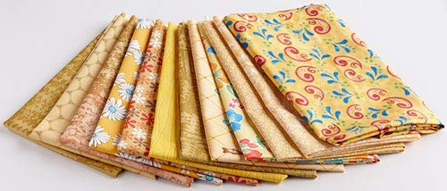 Yellow & Gold Fat Quarter Pack