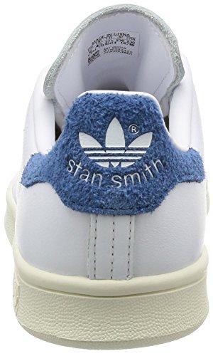 adidas Stan Smith, Entrenadores para Mujer Blanco (White/core Blue)