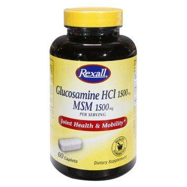 Rexall Glucosamine HCI & MSM - Comprimés, 60 Ct