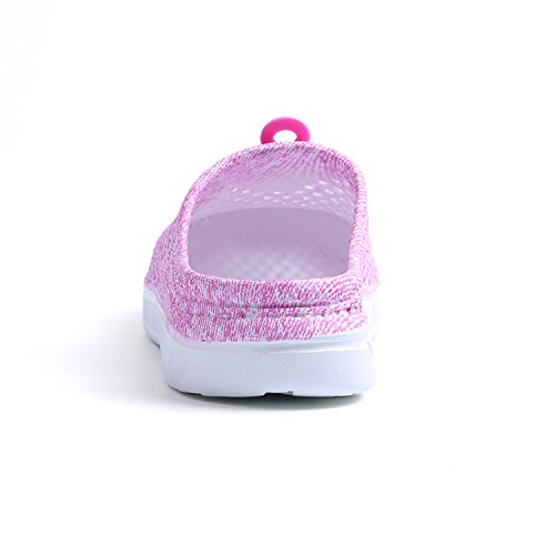 Mesh Sandals Shoes slip Clog Pink Breathable Anti Women Water Footwear Beach Shower Badier Walking Garden Summer Slippers U7w08