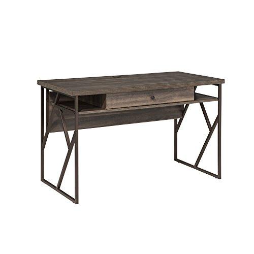 Intercon Lifestyles STUDIO Living Collection, Writing Desk, Weathered Dark Gray Finish (Weathered Finish Furniture)