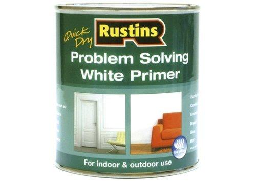 Rustins White Primer (Rustins Quick Dry Problem Solving White Primer,1 Litre by Rustins)