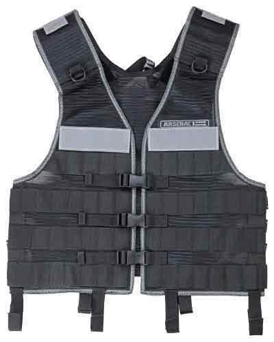 Ergodyne Arsenal 5510 Industrial MOLLE Vest, Black by Ergodyne