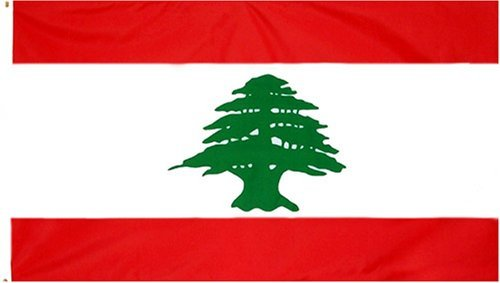 Lebanon Flag 3 X 5 New Lebanese 3X5 National Banner