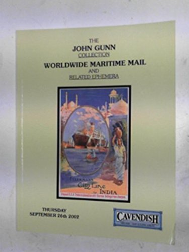 The John Gunn collection of worldwide maritime mail & related ephemera (September 26th 2002) PDF