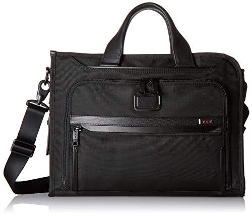 Tumi Unisex Alpha 3 Slim Deluxe Portfolio Black One Size