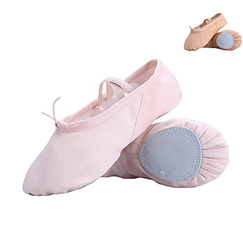 SOOCAN Women's Summer Ballet Slippers Ballet Shoes For Woman danseuse Canvans Professional Ballet Dancers For Girls