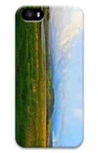 iPhone 5S Customized Unique Print Design Pasture Near Lake iPhone 5 5S Cases 3D