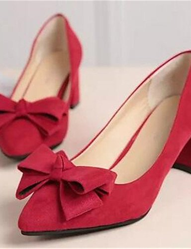 vestido ¨ Rosa ¦ tico mujer Rosso rosa tacones rosa robusto n sint 5 uk6 5 eu39 us7 Scarpe Lavoro di oficina ¨ tacones 5 ® us8 5 cn38 eu38 uk5 cn40 ZQ tac negro Uw76anZx
