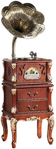 Gramophone Turntable Stereo System With Bluetooth, Built-In