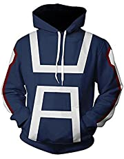 NoveltyBoy Boku No Hero Academia My Hero Academia Izuku Midoriya Hoodies Sweatshirt Cosplay Costume Training Suit Jacket