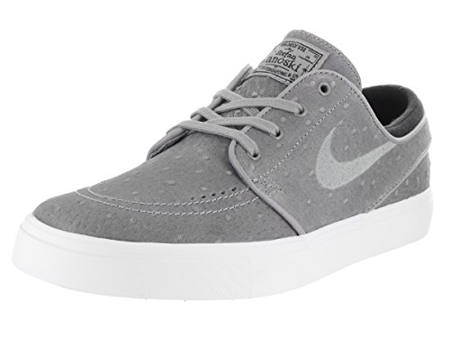 248ffd223e1 Galleon - NIKE Sb Zoom Stefan Janoski Leather Dust Black White Dust Skate  Shoes-Men (10)