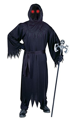 Fun World Men's Adult Fade in and Out Phantom Costume, Black, Standard -