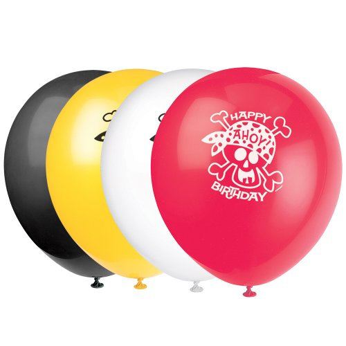 Latex Pirate Party Birthday Balloons
