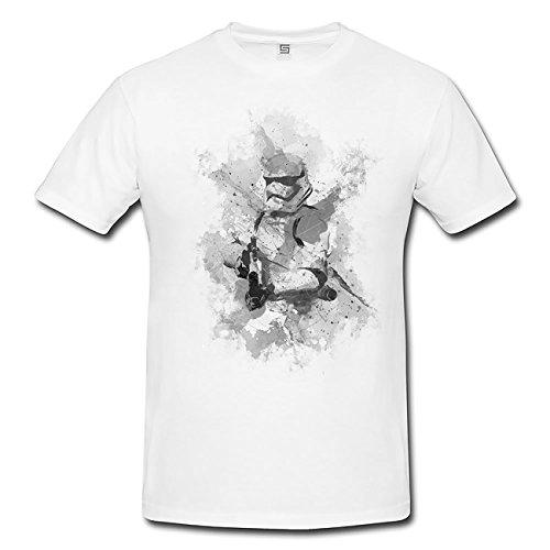 Stormtrooper T-Shirt Herren, weiß mit Aufdruck