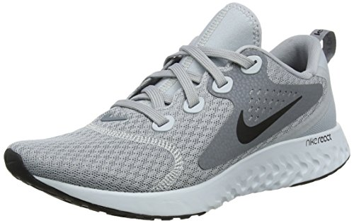 Wmns Grau Damen Laufschuhe Platinum 001 Black Pure Nike React Grey Cool Legend Wolf Grey ZT5xxXqw