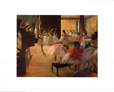 Ballet School, c. 1874 by Edgar Degas - 30x24 Inches - Art Print Poster ()