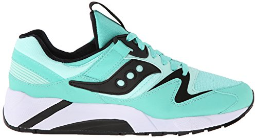 Saucony Originals Grid 9000 Herren Sneakers, Rot (mint / black), 42