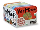 VerMints Organic Variety 6 Pack - 1 Tin of Each Flavor