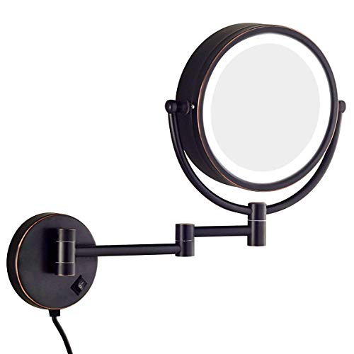 Sanliv 8.5 Inch LED Lighted Wall Mount Makeup