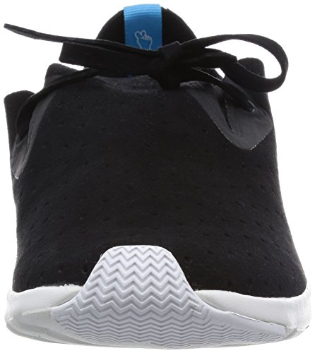 Shell Native Sneaker Fashion Moc Unisex Black Jiffy Black Wh Apollo I8xwq1pr8