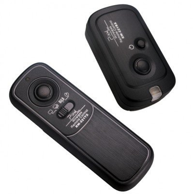 Pixel Pro Digital Camera 100M Wireless Shutter Remote Control Release for Canon EOS 1D 1Ds Mark II III IV 5D Mark II 7D 50D 40D 30D 20D 10D