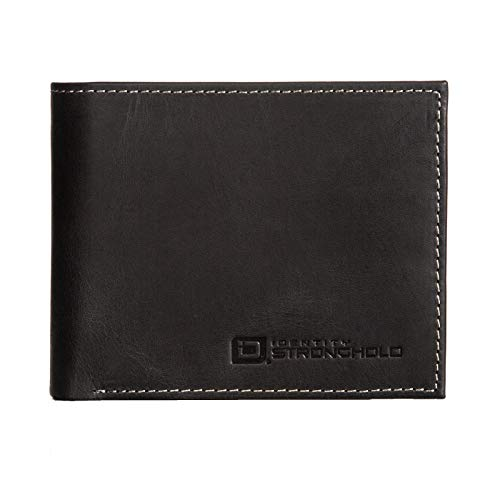 Mens 10 slot RFID Blocking Leather Bifold Wallet for Men Leather