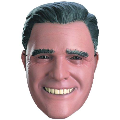 Mitt Romney Vacuform Half Mask Costume (Mitt Romney Mask)