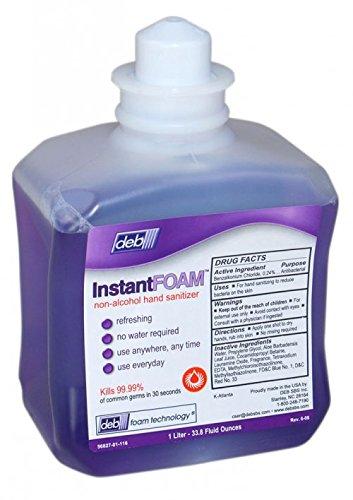Alcohol Free Instant Hand Sanitizer - Deb Instant Non-Alcohol Hand Sanitizer (56827) 6/Case